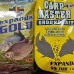 Expanda gold, carp master groundbait